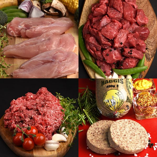 Butcher meat family pack